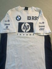 Williams BMW F1 Formula 1 Vintage Team Jersey Size XL