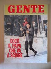 GENTE n°45 1978 Papa Giovanni Paolo II Le vallette di Portobello Bettega [G768]