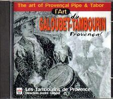 L'ART DU GALOUBET-TAMBOURIN PROVENCAL - LES TAMBOURINS DE PROVENCE - CD NUOVO