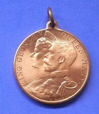 1911 Coronation Medallion Rowntree's Elect Cocoa Full Lustre - Super Condition