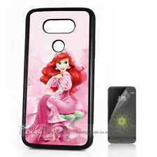 ( For LG G5 ) Back Case Cover P11127 Little Mermaid
