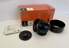 Zeiss Planar T* 85mm f/1.4 ZA Sony A-mount Lens SAL85F14Z Has Fungus