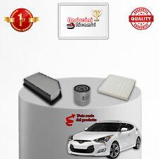 Filtres Kit D'Entretien Hyundai Veloster 1.6 GDI Turbo 137KW 186CV Du 2012->