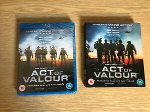 Act of Valour Blu-Ray NEW BLU-RAY In Holographic Sleeve