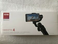 Zhiyun Smooth 4 - 3 Axis Smartphone Stabilizer, Black, Excellent used condition.