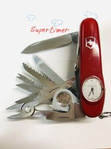 """SUPERTIMER"" Victorinox. (With a leather case)"