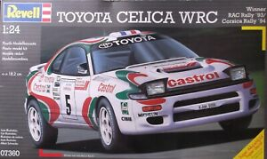 +++ TOYOTA CELICA WRC + 1:24 SCALE KIT by REVELL +++