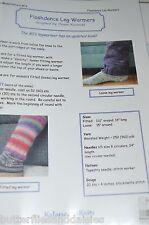 Flashdance Leg Warmers Kalamazoo Knitting Pattern