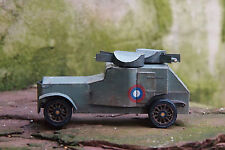 WWI Russian Armoured Car Armstrong-Whitworth-Fiat 1915 1/35 NiiBM Paper Model