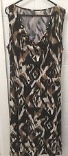 Size 12 Tribal Stretch Business Casual Cocktail Dress EUC Summer Work
