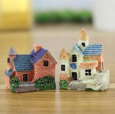 European Mini House Micro Landscape Decoration Garden Miniature Craft DIY Moss