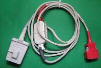 Masimo LNC-20 SpO2 Adult Finger Sensor 2201 DCI-DC-3 Rainbow Red 2053 6.6ft 2M