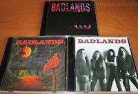 3CD set  BADLANDS - Badlands / Voodoo Highway / Dusk