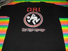 DRI TEE SHIRT DIRTY ROTTEN IMBECILES HARD TO FIND TEE SHIRT XL