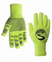 2019/20 Crosspoint Knit Waterproof Gloves Neon Green by Showers Pass