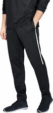 Under Armour Recovery Mens Track Pants - Black Large NWT