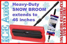 Snow Broom 18841 Subzero 46 Heavy-Duty Arctic Plow Grip Rake Extend Holiday Gift