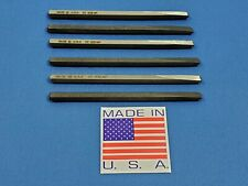 SPRING CLEANING SALE - YOU GET 6 WILDE USA COLD CHISELS 1/4″ CC832 FOR $11.99