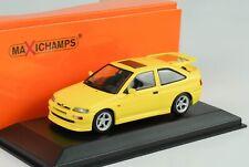 1992 Ford Escort RS Cosworth gelb 1:43 Maxichamps Minichamps