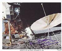 ALAN BEAN SIGNED APOLLO 12 NASA 8x10 LITHOGRAPH - UACC RD AUTOGRAPH