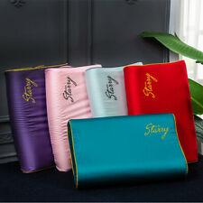 1/2pc Ice Silk Cotton Memory Foam Contour Pillowcase Latex Cervical Pillow Cover