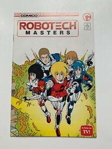 Robotech Masters #1 (Comico, 1985) VF