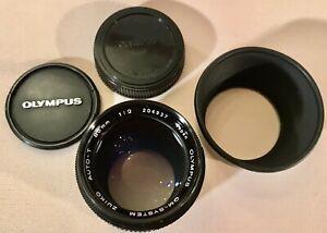 Olympus 1:2 85mm OM-System Auto-T Portrait lens Objektiv