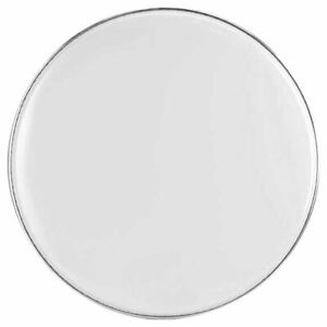 RockSolid White Smooth Reso Bass Drum Head Skin - Choose Your Size
