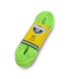 """Howies Royal Lime Green 120"""" Ice Hockey Waxed Skate Laces Street Inline Roller"""