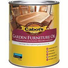 Cabot's 1L Merbau Water Based Garden Furniture Oil