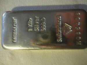 METALOR 1Kg bullion bar for sale