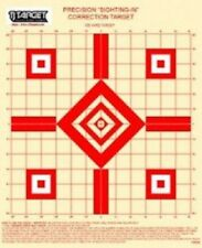 "TSPGS 100 Yd Rifle Sighting-In Target (red) with 1"" Grid (50 Targets)"