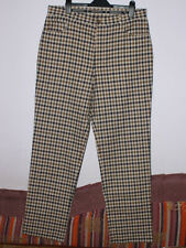 NEW Genuine Mens Aquascutum Check Pants Trousers - 36L made in Italy