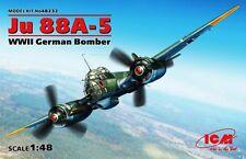 JUNKERS Ju-88 A-5 (LUFTWAFFE MARKINGS) 1/48 ICM BRAND NEW
