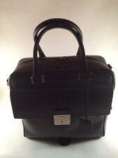 Salvatore Ferragamo Flight Bag Embossed Calfskin $1850.00