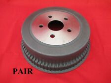NEW 2 1/2 FINNED DRUMS PAIR x2 SUIT FORD FALCON XW XY XA GT GS 351 9 INCH K CODE