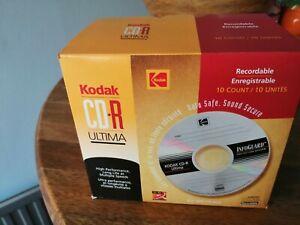 Kodak CD-R Ultima Recordable CDs x 10