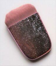 Pretty Metallic Pink Flat Contour Foundation Makeup Brush