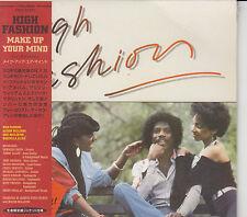 High Fashion: Make up Your Mind (Japan Vivid Sound Mini-LP CD reissue) NEW SS