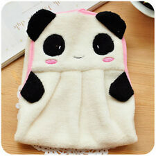 Cute Animal Hand Towel Cartoon Hanging Baby Face Kids Washcloth Bath Water Dry White Panda