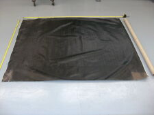 1933 Chevy Convertible GM NOS Convertible Top Bulk Material Black Textured