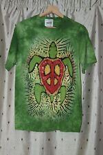 The Mountain ~ Rasta Peace Turtle T - Shirt Adult Men's / Women's~ Small