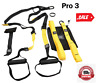 PRO Body Resistance Bands Fitness Hanging Belt Training Gym workout Fits trx