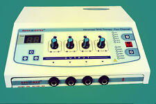 New Electronic Electrotherapy Machine Physical therapy 4Ch Electrotherapy.