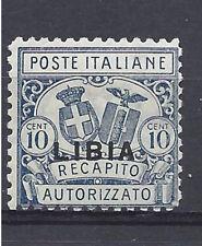 LIBIA 1929 Recapito Autorizzato dent. 11 MNH** (PP)