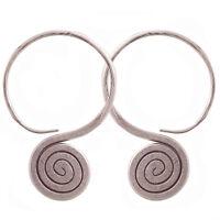 Earrings Thai Karen hill tribe silver