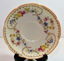 """Vintage Royal Doulton Bone China England Light Beaufort #V1630 5 7/8""""d Saucer"""