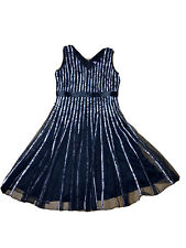 Katies Women's Plus Size A - Line Dress With Lettuce Hem Size 18