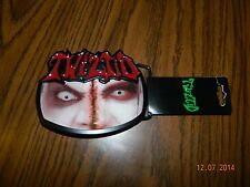 """New- OFFICIALLY LICENSED ICP """"TWIZTID """" Metal Belt Buckle"""