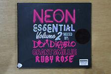 Neon Essential: Volume 2 - 2009 3x CD Promo - Don Diablo, Krafty Kuts (Box C104)
